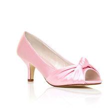 Women's Kitten Heel Textile Shoes