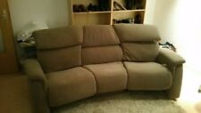 Couch Sofa von Himolla / Stoff: Nuvano Royal / Farbe: Schlamm