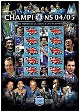 Edición limitada de Campeones Chelsea Barclay Taza 2004/2005 Smilers Hoja