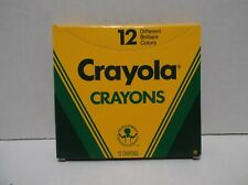 New listing Crayola Crayons 12 Color Box ~ New ~ 1988!
