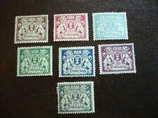 Stamps - Danzig - Scott# 127-135
