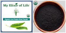 100% Organic Pure Freeze Dried Acai Berry Powder 1 oz
