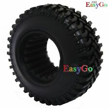 2pcs RC 1/10 1.9'' Crawler Tires Tyres 100mm for rc Axial Tamiya cc01 F350 RC4WD