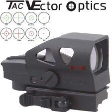 Vector Optics Ratchet 1x23x34 Tactical Red Green Dot Reflex Sight Scope QD Mount