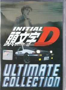 Anime DVD Initial D Season 1-6 + Battle Stage + Extra Stage + Legend 1-3 Eng Dub