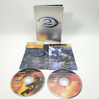 Halo 2 : Limited Collector's Edition Steel Xbox Complete Steel Case
