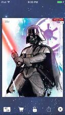 Topps Star Wars Digital Card Trader Colour Watercolour Darth Vader Insert
