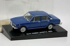 Edison Presse 1/43 - Alfa Romeo Alfetta 1972 Bleue