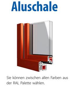 Aluplast IDEAL 8000, Aluschale möglich, Fenster aus Polen, top Lieferzeit