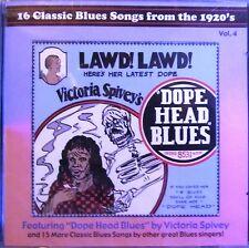 CD: 16 Classic Blues Songs From the 1920's Vol 4 Son House, Lemon, MJB , Sheiks