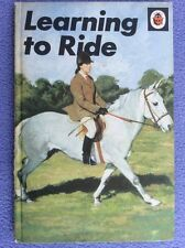 + Ladybird - Learning To Ride - Margaret Hickman - 1973 - Series 633 - England +