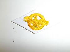 b0417 WW 2 US Navy & Coast Cloth Discharge emblem White Ruptured Duck A10B13