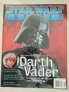 STAR WARS INSIDER MAGAZINE #39 AUGUST / SEPTEMBER 1998 DARTH VADER COVER