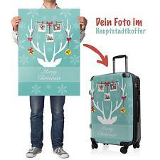 X-MAS Weihnachten besondere Geschenke gestalte deinen Koffer