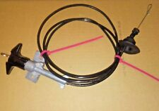 1980-1986 FORD F-150  BRONCO FACTORY UNDER DASH LOCKING HOOD CABLE  WITH 1 KEY