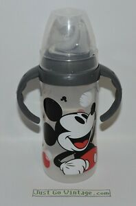NUK Disney Mickey Mouse Large Learner Sippy Cup w/ Handles Lid 10 Oz, 1 Pack NEW