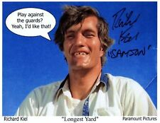 RICHARD KIEL IN PERSON SIGNED PHOTO AS SAMSON FROM THE LONGEST YARD