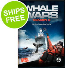 Whale Wars Season 2 (DVD, 2009) NEW, Sealed, Animal Planet TV Show