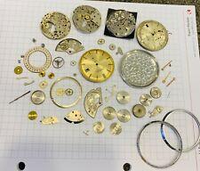 Lotto n. 3 Peseux 336N movimenti incompleti pezzi di ricambio spare parts
