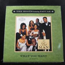 The Roots Featuring Jaguar - What You Want LP Mint- 44 79288 Vinyl Record