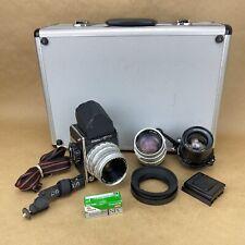 Kowa SIX 6x6 Medium Format Film Camera W/ Case & 3 Lenses - Gorgeous Set
