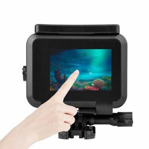 Wasserdichte Gehäuse Schutzhülle für Tauchgehäuse für GoPro Hero 9 Black Camera
