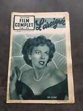 FILM COMPLET N°253 12/4/51 L'ARAIGNEE Ida Lupino F124