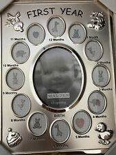 Malden Baby's First Year Picture Frame - W/ Box