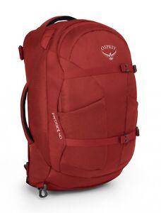 Osprey Farpoint 40 M / L Rucksack Reisetasche Wanderrucksack Tasche Jasper Red