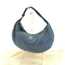 Auth MiuMiu Handbag with logo Button Women''s used C2168