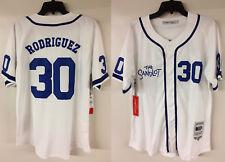 "O Terreno Baldio Benny Rodriguez ""o jato"" Dodgers Filme autêntico Jersey Beisebol"