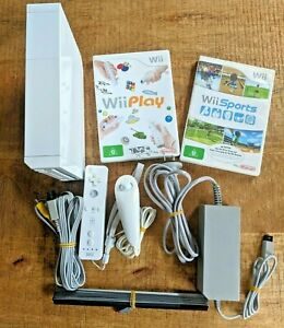 Nintendo Wii Console Bundle with Remotes & cables - READY TO PLAY **OZ Seller**