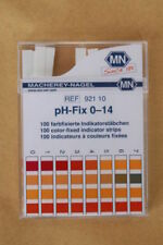 pH-fix test strips 0-14 Macherey-Nagel 100 color-fixed indicator strips 921-10