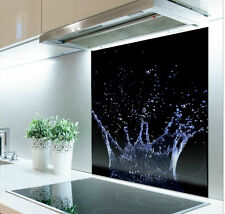 60cm x 70cm Digital Print Glass Splashback Heat Resistant  Toughened  286