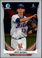 2014 Bowman Chrome Prospects #BCP56 Jeff McNeil RC Rookie Mets