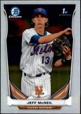 2014 Bowman Chrome Prospects #BCP56 Jeff McNeil RC Rookie Mets