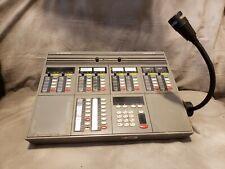 Vintage Motorola Dispatch Console CommandStar Lite Command Star Microphone