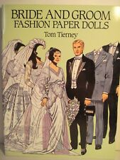 Bride And Groom Fashion Paper Dolls By Tom Tierney