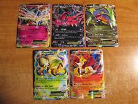 NM/M Pokemon XY BLACK STAR PROMO Card Yveltal Xerneas Garchomp Delphox EX #1