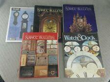 Lot of 4 NAWCC bulletin Dec 09, Feb10, Dec 08, Oct 09 plus Oct 09 The Mart