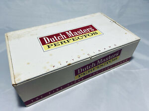 Old Dutch Masters Perfectos Empty Vintage Cardboard Cigar Box FREE S/H