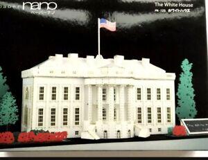 The White House Paper Nano Kawada Laser Cut Paper Model Kit On 125 New...