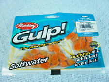 "BERKLEY GULP! SALTWATER 1/2"" Sand Crab Flea A/O (24 to28/bag)(KVSFC#1R0619)"