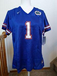 Nike Florida Gators #1 NCAA Football Jersey Blue Women's 16-18 XL NWT