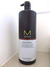 Paul Mitchell Mitch HEAVY HITTER Deep Cleansing Shampoo 33.8oz/1Liter