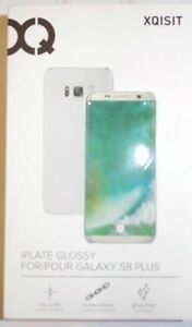Genuine Xqisit iPlate Glossy Hard Cover Case for Samsung Galaxy S8 Plus Clear