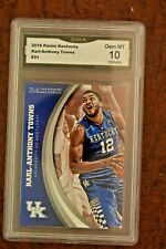 GRADED BASKETBALL CARD 2016 PANINI UK KARL ANTHONY TOWNS GEM MINT 10