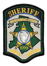 POLICE PATCH NORTH CAROLINA MECKLEBURG  COUNTY SHERIFF DEPARTMENT STAR BADGE