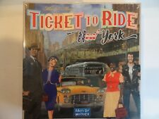 Ticket to Ride New York City 1960s Board Game Family 2-4 Players NEW