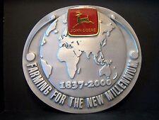 John Deere 2000 Millennium Service Training Belt Buckle NZ Australia  Ltd Ed 001
